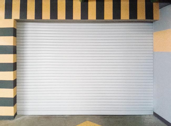 Автоматические противопожарные рулонные ворота типа FireRollGate EI60